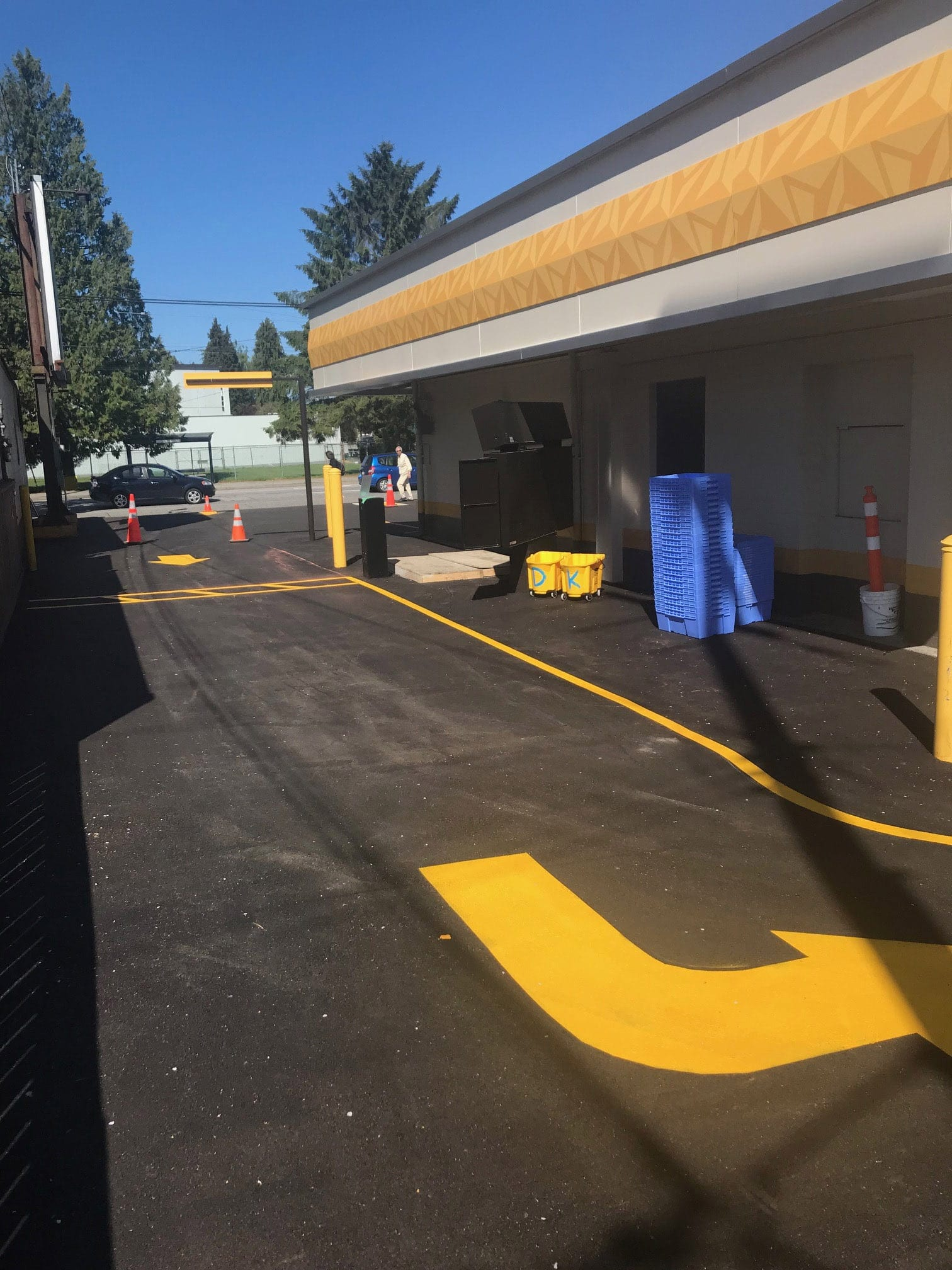 Parking Line Painting Chilliwack Abbotsford Vancouver Surrey Burnaby Langley Coquitlam
