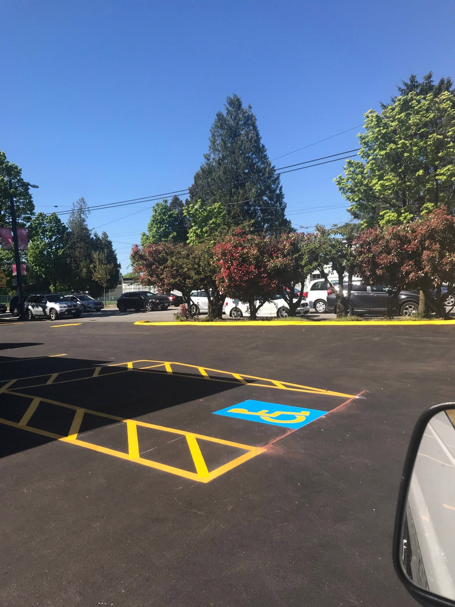 Parking Line Painting Chilliwack Abbotsford Vancouver Surrey