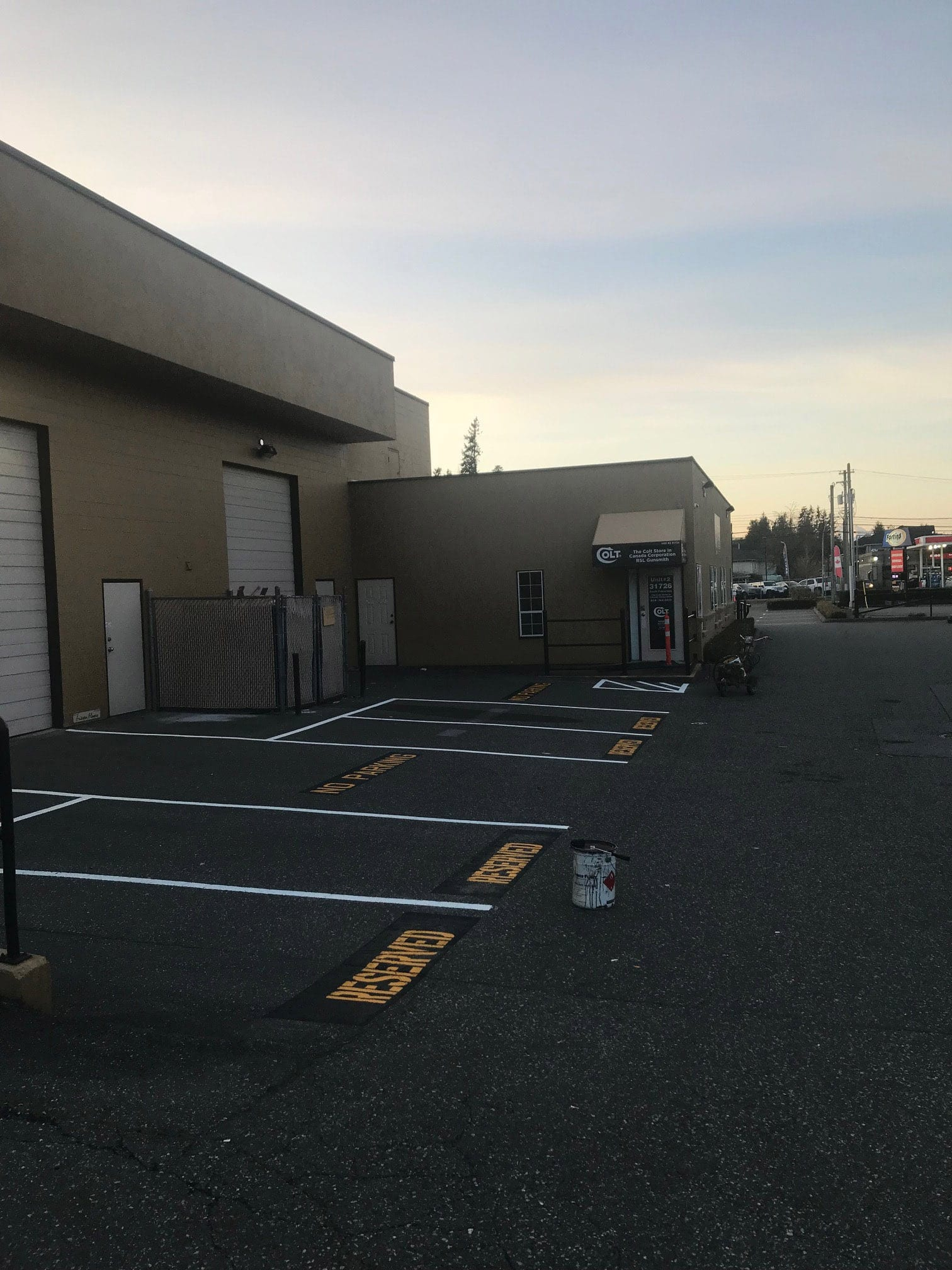 Parking Line Painting Chilliwack Abbotsford Vancouver