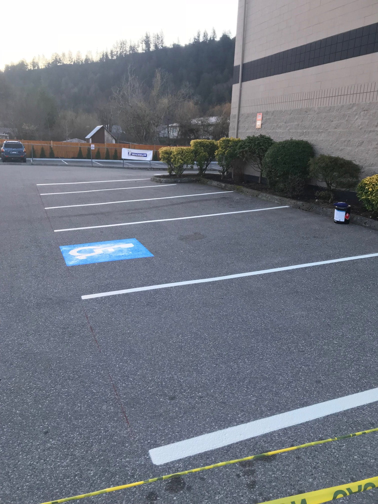 Parking Line Painting Chilliwack Abbotsford Vancouver Surrey Burnaby Aldergrove