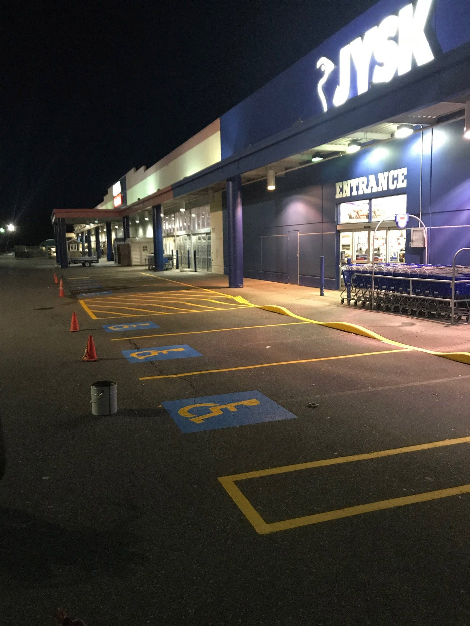 Parking Line Painting Chilliwack Abbotsford Vancouver Surrey Burnaby Langley